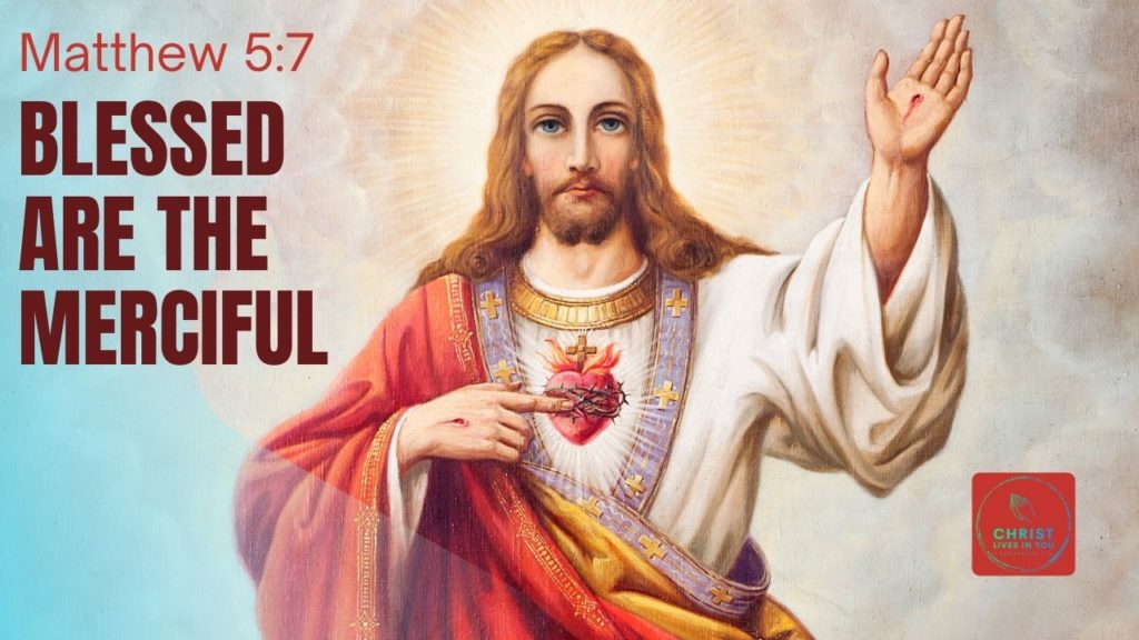 Jesus with one hand raised and the other pointing toward his sacred heart